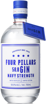 Navy Strength Gin-Wordpress