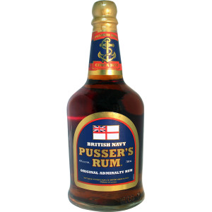 Pusser's Rhum Original admiralty blend – Blue label