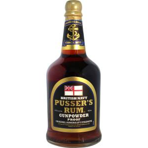 Pusser's Rhum Gunpowder Proof