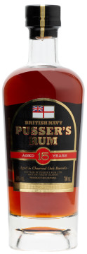 Pusser's Rum 15 ans True aged