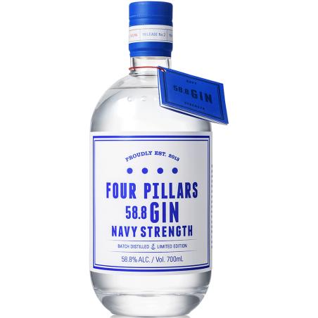 Navy Strength gin Four Pillars